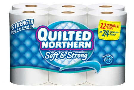 quilted northern 12 double rolls New $2.00/2 Quilted Northern Coupon + Rite Aid and Safeway Deals!