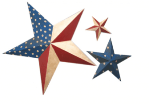 red white and blue stars 300x211 4th of July Restaurant Freebies: Starbucks, Chilis and more!