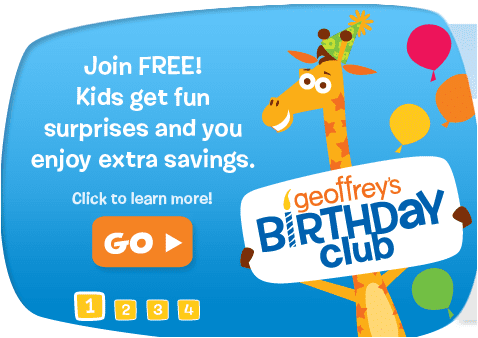 toysrusbirthday Celebrate your Birthday with over 100 Freebies!!!