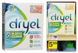 Dryel 300x204 Dryel In Dryer Cleaning Starter Kit for Just $1.99 at Rite Aid (reg. $7.99)!