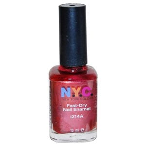 NYC Nail Polish New York Color Nail Polish or Lipstick Only $.09 at Rite Aid!