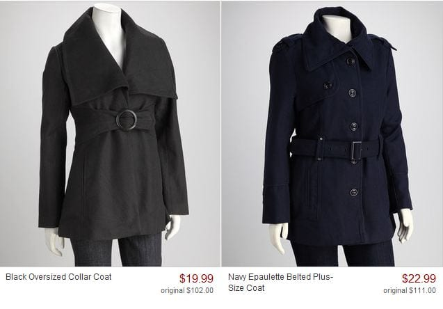 coats Fall and Winter Coats only $19.99 on Zulily!
