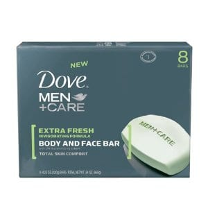Dove Sensitive Skin Unscented Soap only $0.92 per bar shipped!