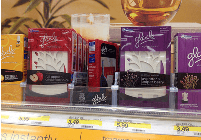 glade oil2 Free Glade Expressions Starter Kit at Walmart and Target