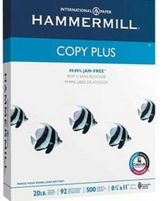hammermill copy paper Free Hammermill Copy Paper at Staples!