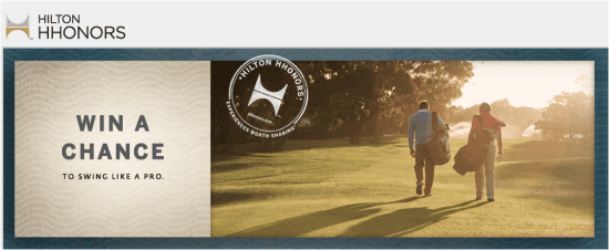 hhilton e1344378305557 Hilton HHonors 2012 Charitable Golf Series Final Sweepstakes