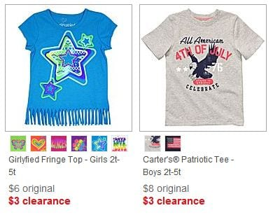jcpenney clearance2 JC Penney: Kids Clothing Clearance   prices as low as $3!