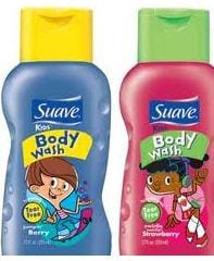 kids suave body wash Suave Kids Body Wash Only $.31 at Target!  No Coupons Required!