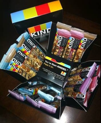 kind nuts and spices cube Mojo Giveaway: Win one of two KIND Nuts & Spices Cubes (20 bars = $42.95 value ea)