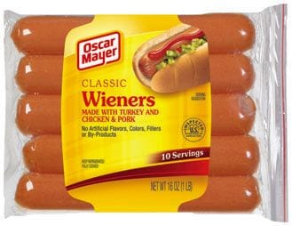 oscar mayer hot dogs