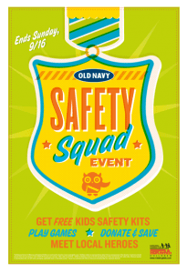 Free Safety Kit at Old Navy 205x300 Old Navy: FREE Child Safety Kit (Free Child ID Bracelet, Activity Book + More).