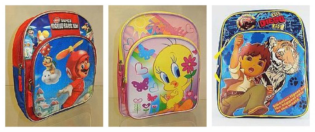 backpack collage 1024x430 Kmart: Kids Backpacks as low as $4.12!
