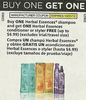 herbal essences coupon Buy One Get One Free Herbal Essences Coupon = as low as $1.49 ea at Walmart + other deals!