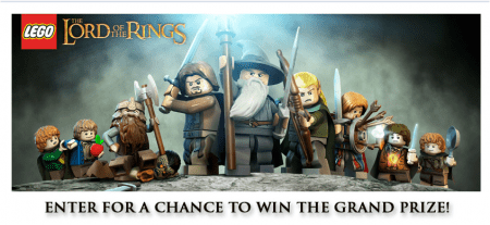 lordoftheringssweeps e1347818276410 Lego The Lord of The Rings Sweepstakes
