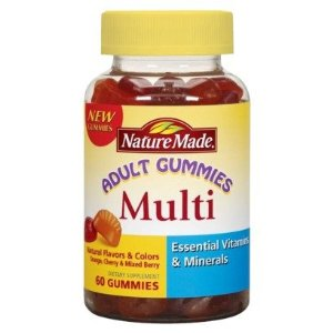 Nature Made Adult Gummies FREE + $1.01 Moneymaker on Nature Made Gummies at CVS!