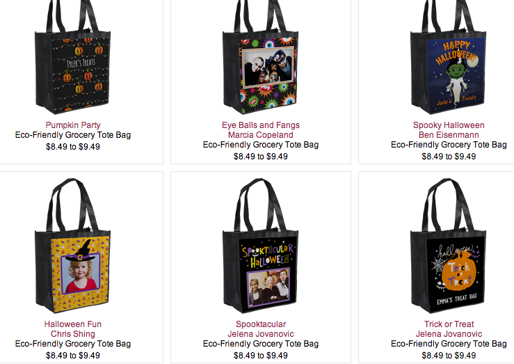 halloween totes InkGarden: $1 Trick or Treat Bags (reg $9.49!)