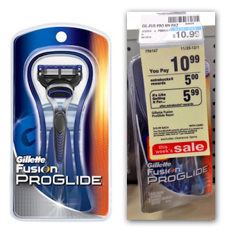 gillette2 Moneymaker on Gillette at CVS!