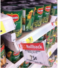 greenbeans Del Monte Green Beans Only $0.63 at Walmart + Green Bean Casserole Recipe!