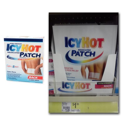 icyhot Icy Hot Medicated Patch Only $0.85 at Dollar General!