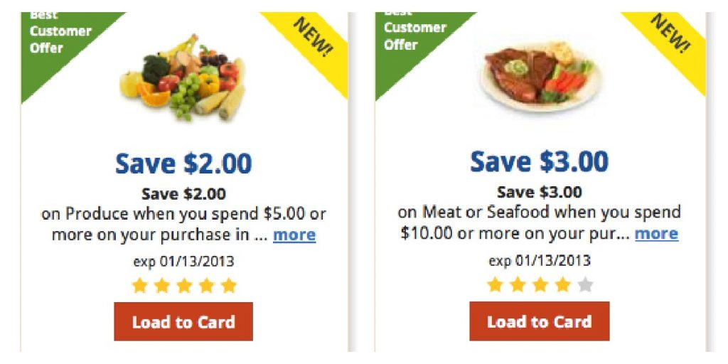 Kroger ecoupons and paper coupons
