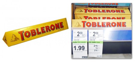 toblerone2 Toblerone Chocolate Only $0.74 at Walgreens!