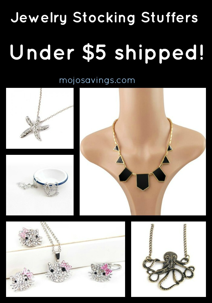 vintagejewelrycollage Jewelry Stocking Stuffers Under $5.00 Shipped!