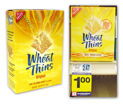 Wheat Thins Only $0.50 at Rite Aid!