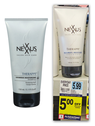 Nexxus Therppe Shampoo Nexxus Therappe Ultimate Moisture Shampoo Just 99¢ at Rite Aid (reg. $5.99)!