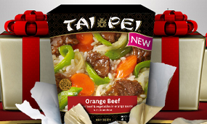 Tai Pei Frozen Asian Entree Tai Pei $2.60 off 2 Coupon!