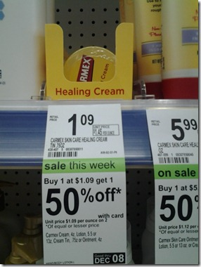 carmexdeal FREE Carmex at Walgreens!