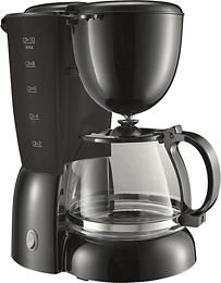 coffeemaker Best Buy: 10 cup Coffeemaker only $4.99 shipped! (reg $19.99)