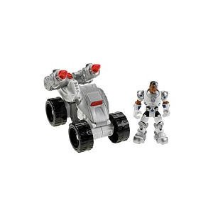 cyborg Fisher Price Hero World DC Super Friends Cyborg and ATV only $4.98 (reg $16.99)