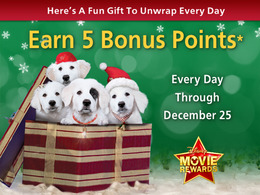 disney movie rewards 5 FREE Disney Movie Rewards Points Every Day through Christmas