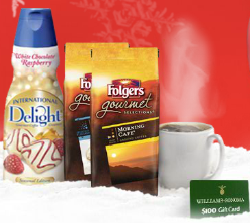 WIN Free Folgers Coffee For a Year