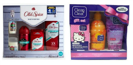 gift sets colage Walmart After Christmas Clearance!