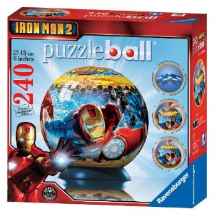 Iron Man 2 Puzzle Ball