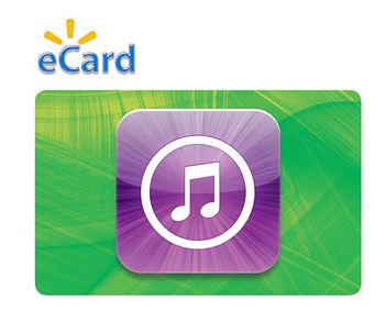 itunes 50 $50 iTunes eGift Card only $40 on Walmart.com!