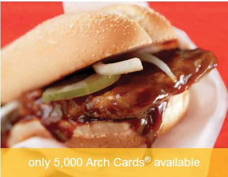 mcdonalds gift card Living Social: $5 for a $10 McDonalds Gift Card!