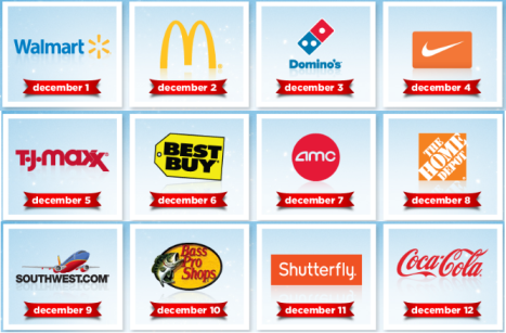 my coke My Coke Rewards   12 Days of Christmas: Walmart, McDonalds, Nike Gift Cards and More..