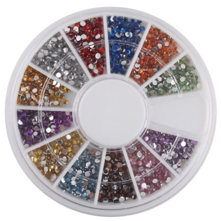 nailart Manicure Inspiration + 3000 Nail Art Gems for $1.67 SHIPPED!