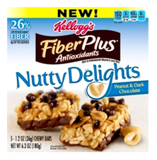 FiberPlus Nutty Delight Bars