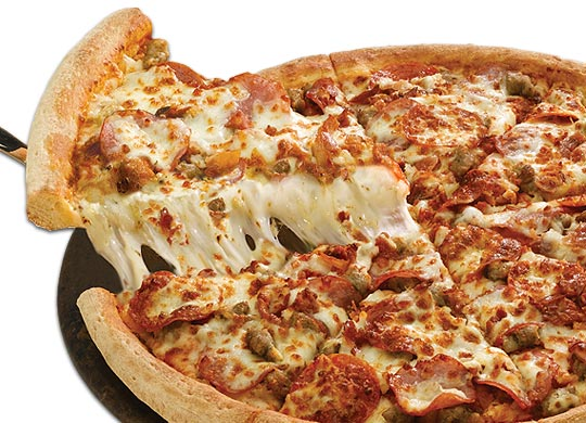 Free Large One Topping Pizza