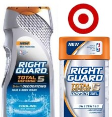 rightguard Right Guard Total Defense Only $0.44 at Target!!