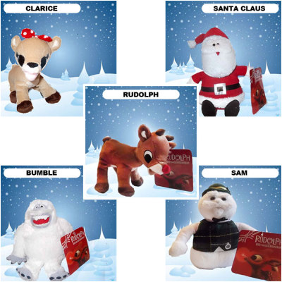 Amazoncom: rudolph the red nosed reindeer toys: Toys