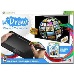 udraw UDraw Gametablet with uDraw Studio only $13.56 (reg $49.99)