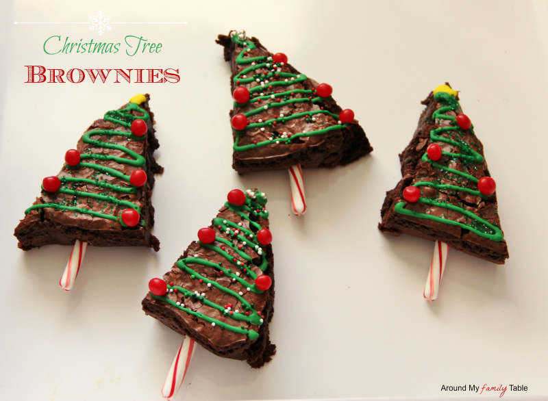 xmasbrownies Christmas Tree Brownies!