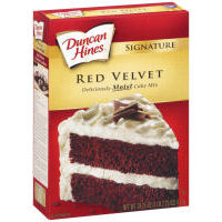 Duncan Hines Red Velvet Cake Mix Duncan Hines Red Velvet Cake Mix Just 19¢ at Kroger!