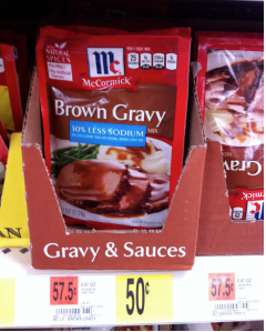 McCormick Brown Gravy at Walmart McCormick Brown Gravy Just 23¢ at Walmart