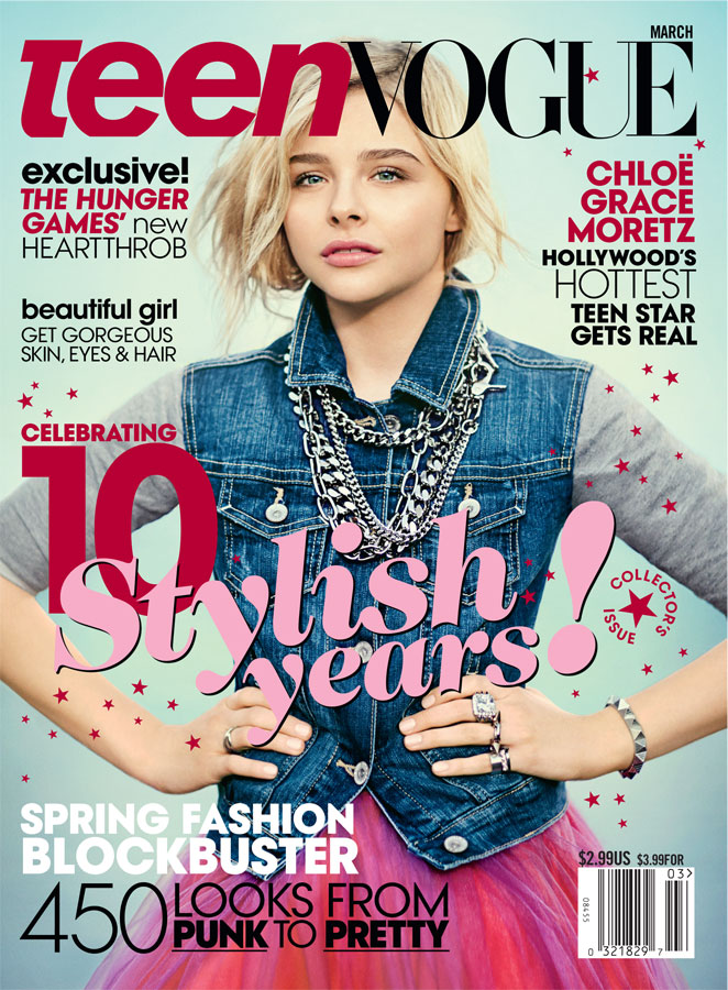 Teen Vogue cover