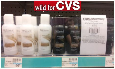 Tresemme at CVS FREE TRESemme Shampoo or Conditioner at CVS